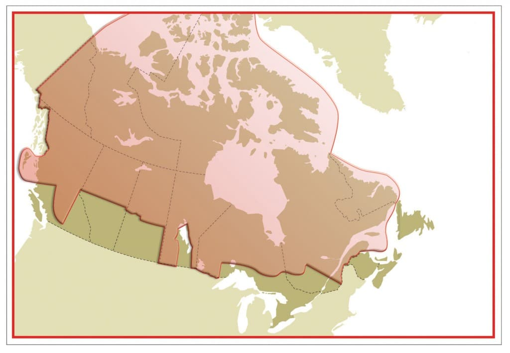 85% of the geography of Canada and 15% of the population. Our strength and our challenge.