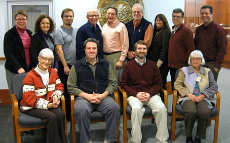 Members of the Anglican-United Church dialogue