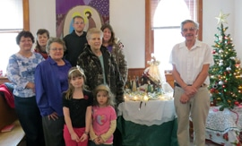 Lac La Biche parishioners