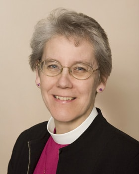 Bishop Linda Nicholls (Diocese of Toronto) has chaired the Primate's Theological Commission since 2008.