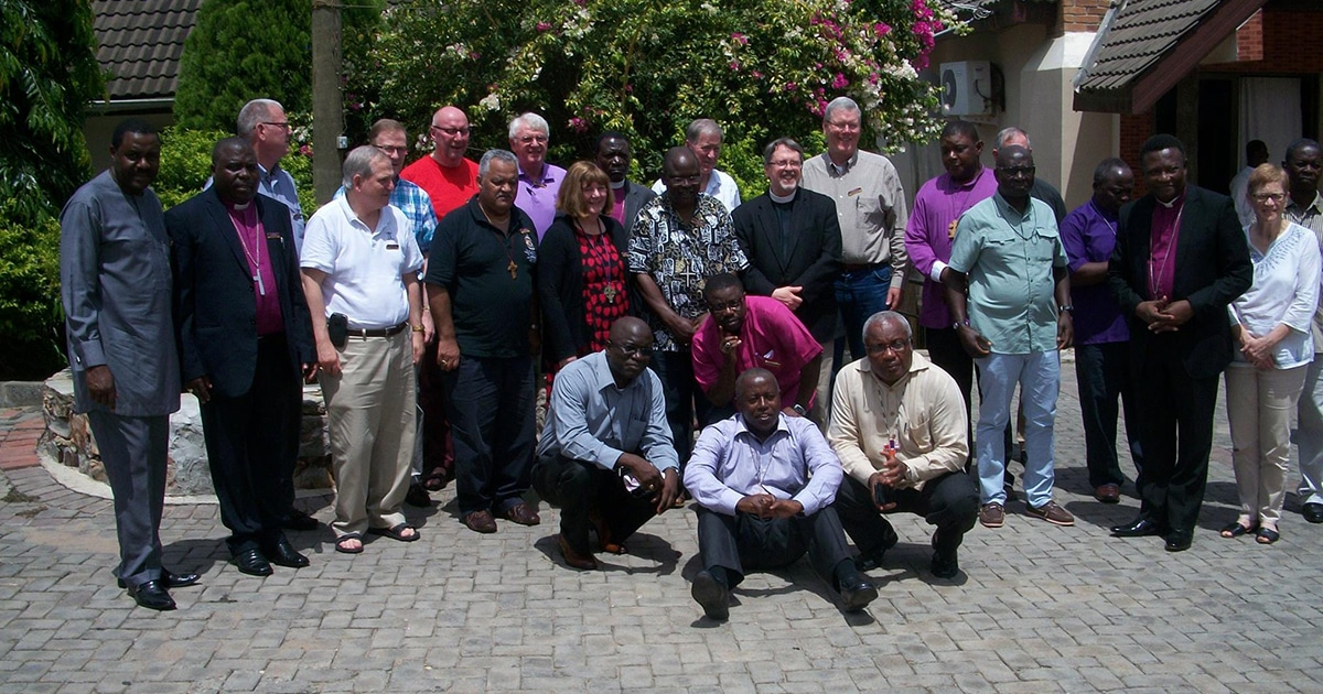Bishops from North America, Africa, and England meet at the Seventh Consultation of Anglican Bishops in Dialogue in Accra, Ghana. Submitted photo