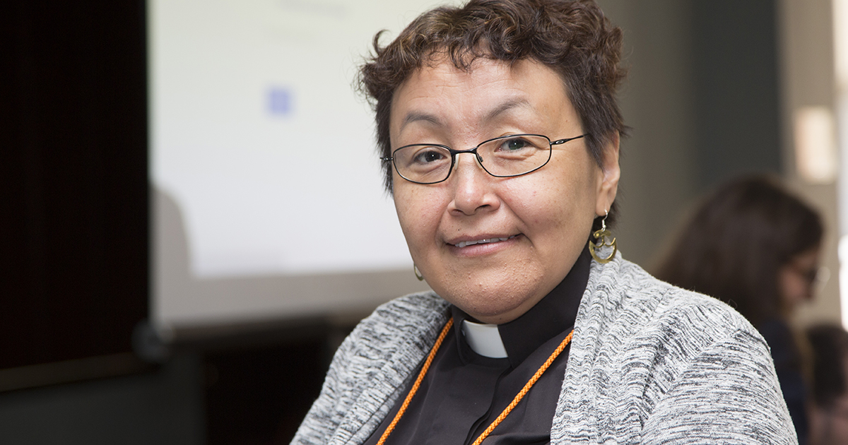 The Rev. Annie Ittoshat currently serves as Aboriginal community minister for the Diocese of Montreal. Submitted photo by Janet Best