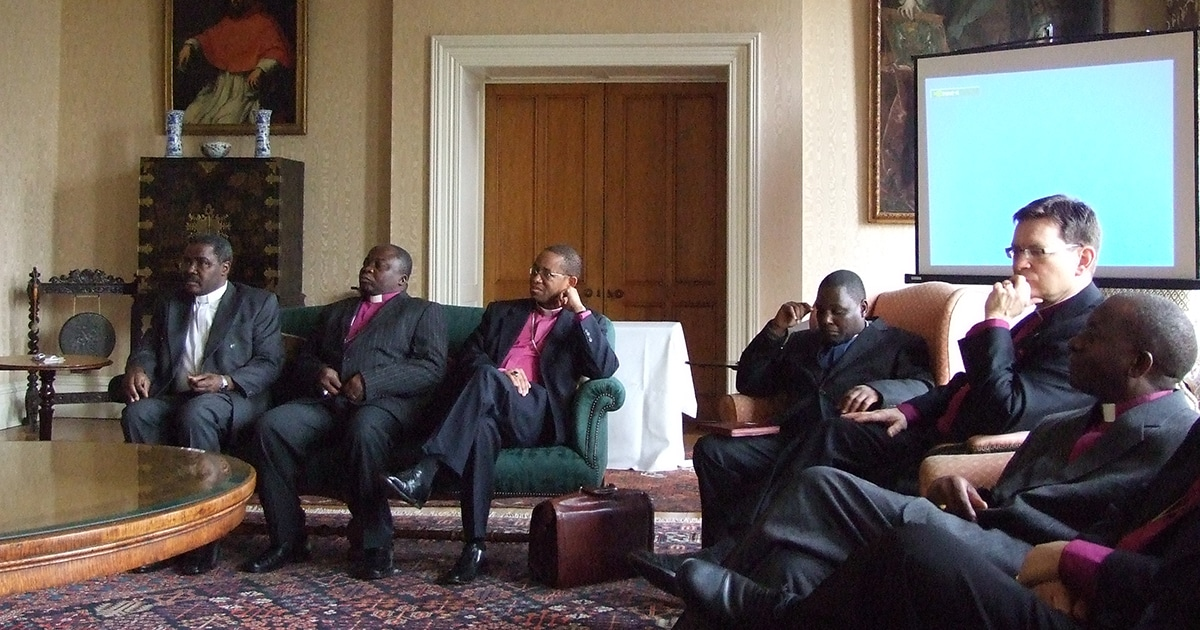 Bishops meet in London during the 2010 Consultation of Anglican Bishops in Dialogue. Submitted photo