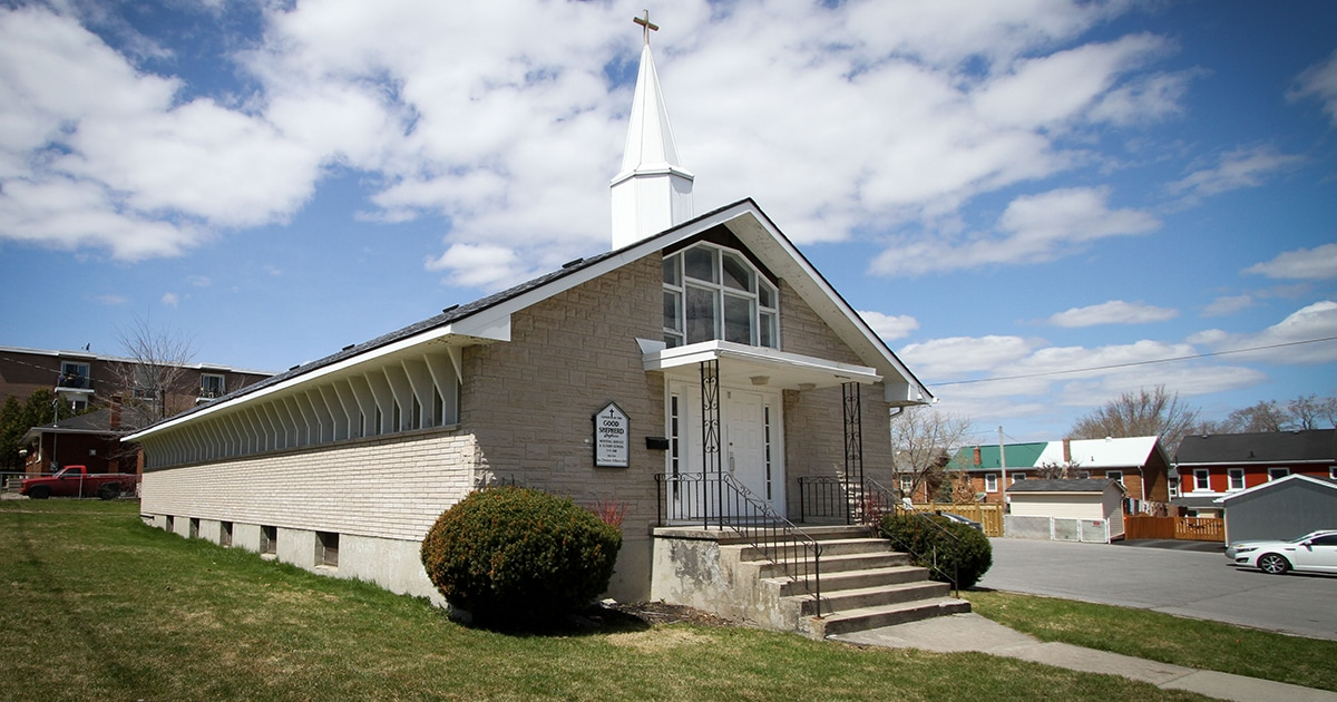 The Good Shepherd Mission as it currently stands in Kingston, Ont. Submitted photo