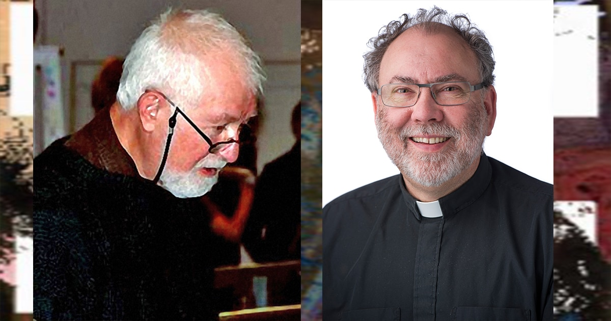 The Rev. Dr. Paul Gibson (left) and the Rev. André Lavergne are the Anglican and Lutheran recipients, respectively, of the 2016 Companion of the Worship Arts. Photo of the Rev. Gibson from The Episcopal Church Archives.