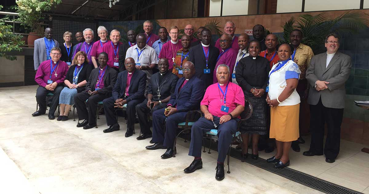 Participants gather for the Eighth Consultation of Anglican Bishops in Dialogue in Nairobi, Kenya. Submitted photo