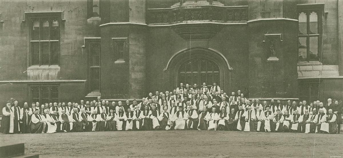 Lambeth Conference, 1888. Photo P7565-135 from Anglican Archives