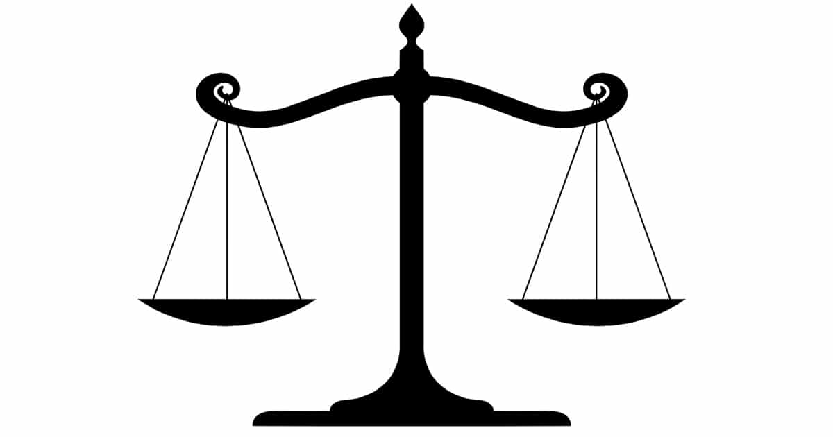 Scales of justice-FB