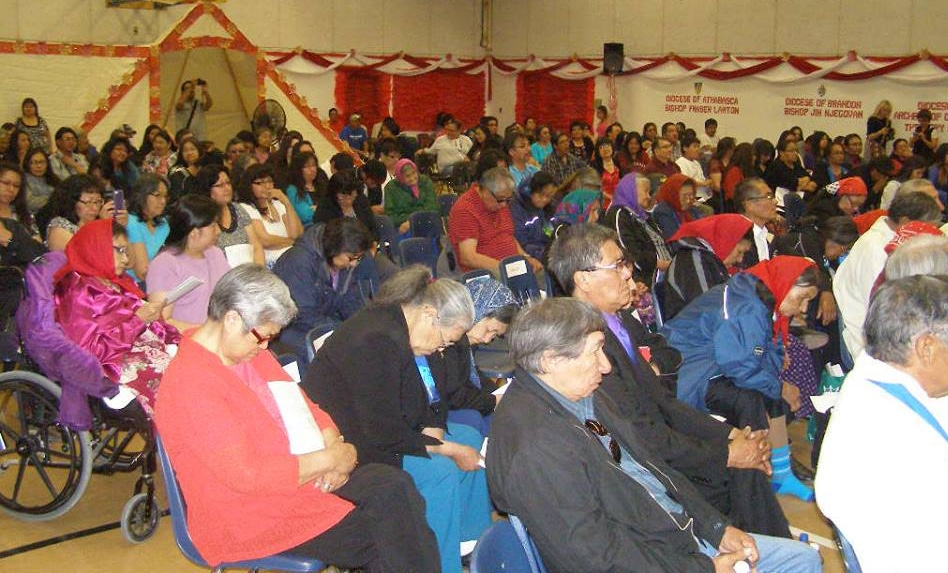 "Funds from Gifts for Mission and Anglican Appeal helped elders gather for the launch of the Indigenous Spiritual Ministry of Mishamikoweesh in 2014, the culmination of what had been called ""the dream of the elders."""