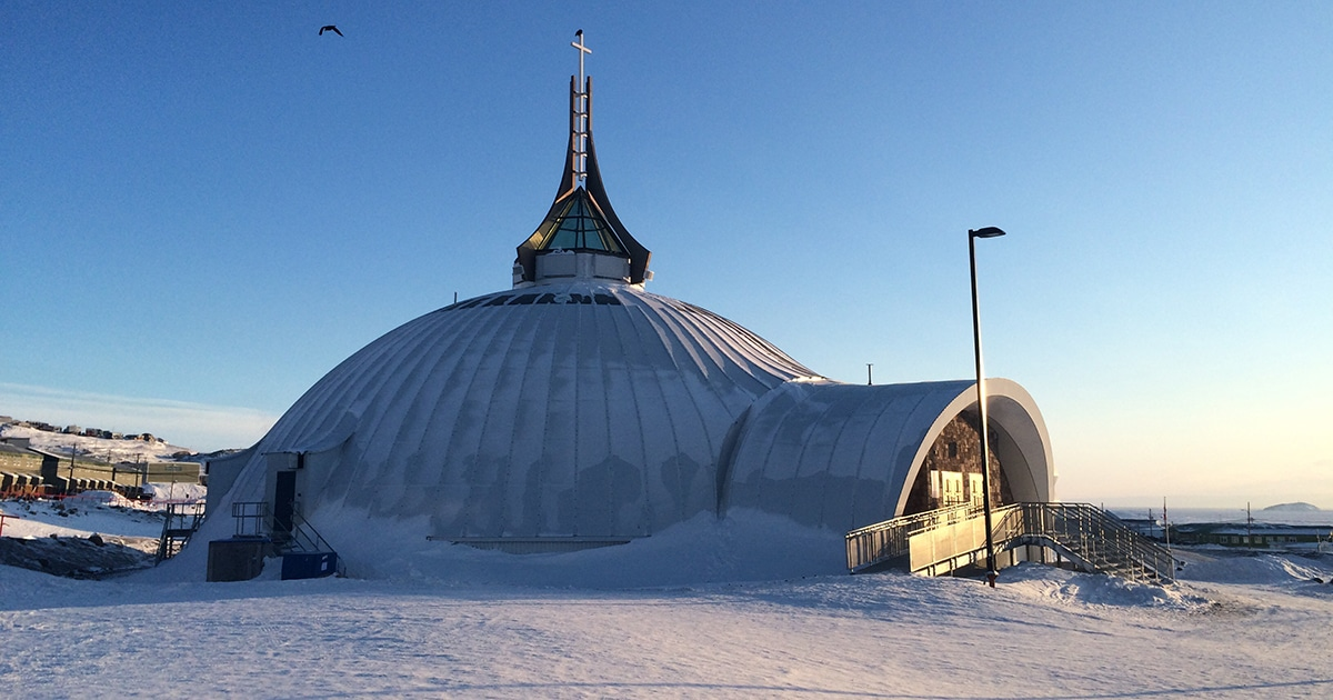 St. Jude's Cathedral in Iqaluit will be the new location of the Arthur Turner Training School when it re-opens this fall.