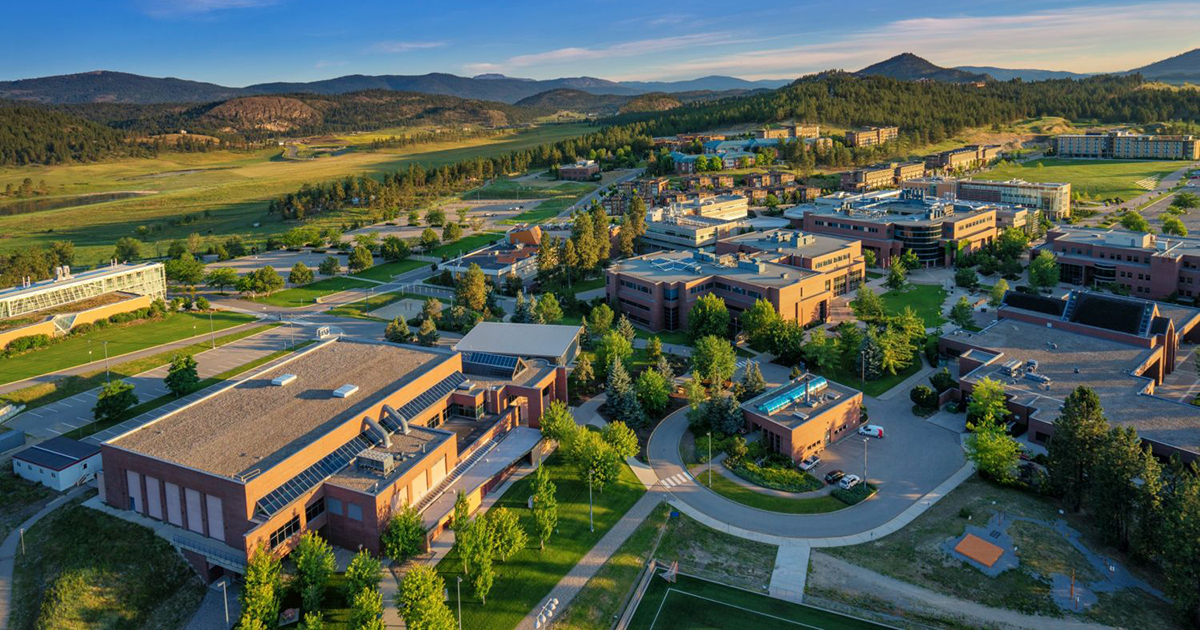 The University of British Columbia is partnering with the Anglican Diocese of Kootenay to offer a course on issues facing Indigenous people in relation to health care. The course is available to students at the university's Okanagan campus, pictured above. Submitted photo