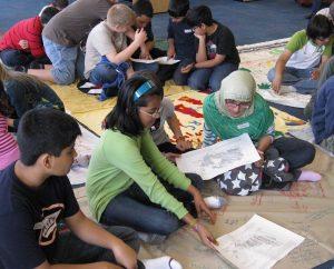 Grade six students, Mississauga, Ontario, 2010