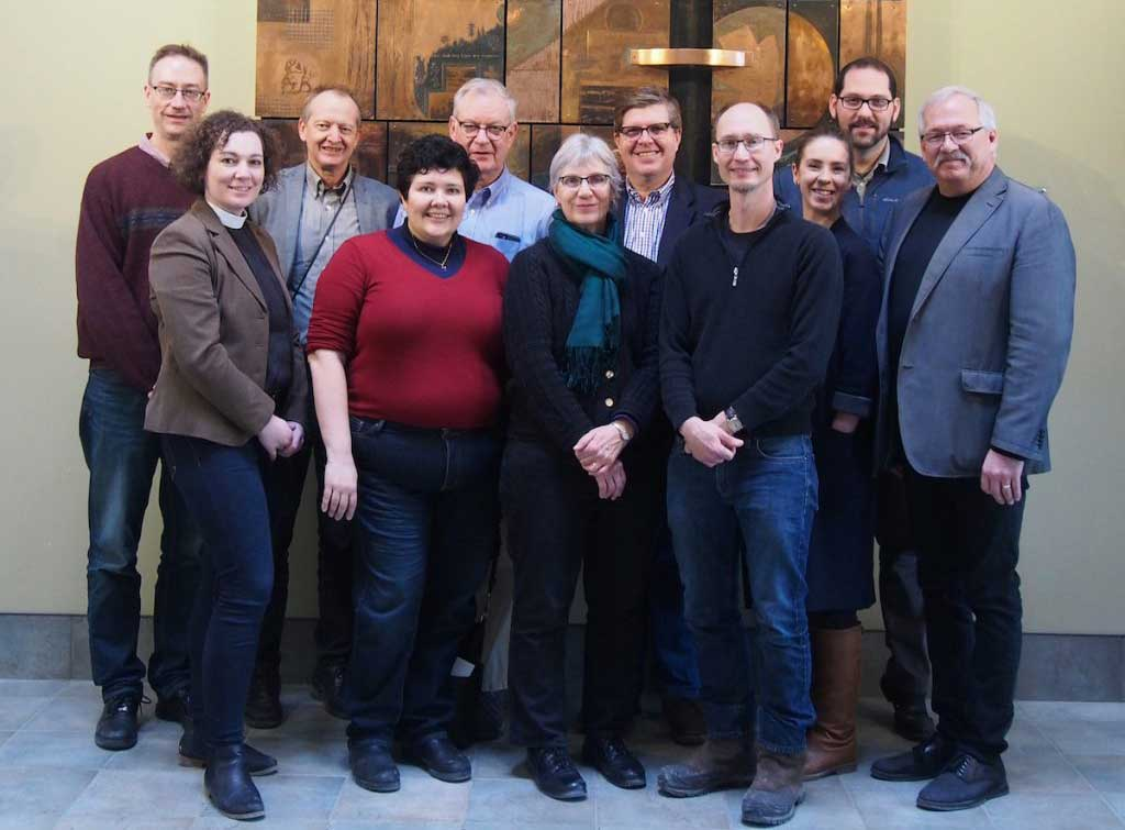 Photo of members of the Anglican-Mennonite Dialogue
