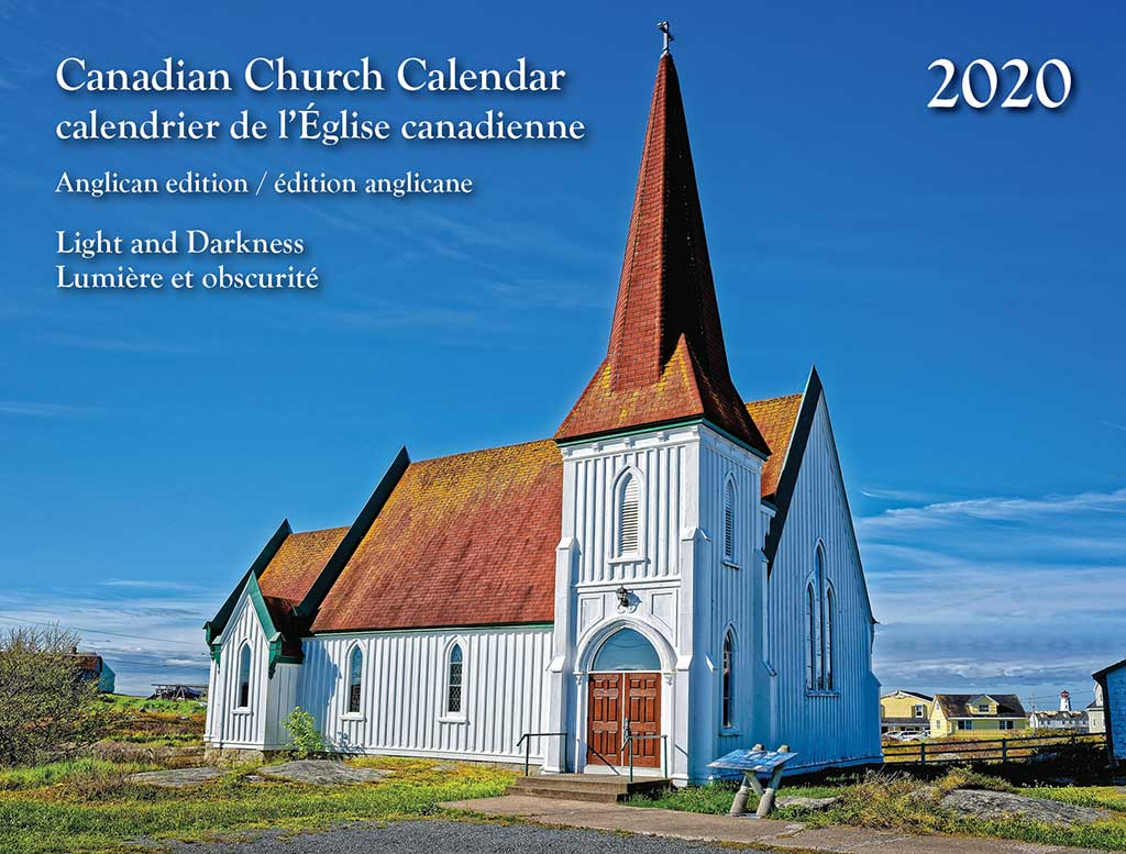 Calendrier 2020 Can.Canadian Church Calendar 2020 The Anglican Church Of Canada