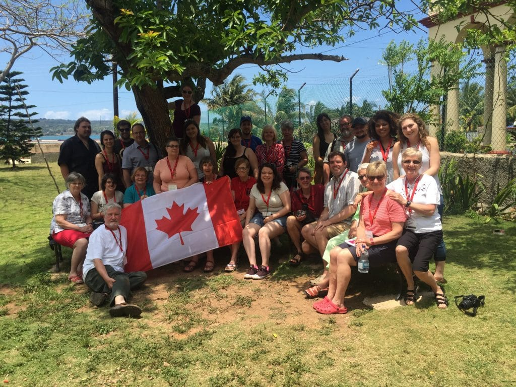 Canadian participants in Justice Camp 2016.