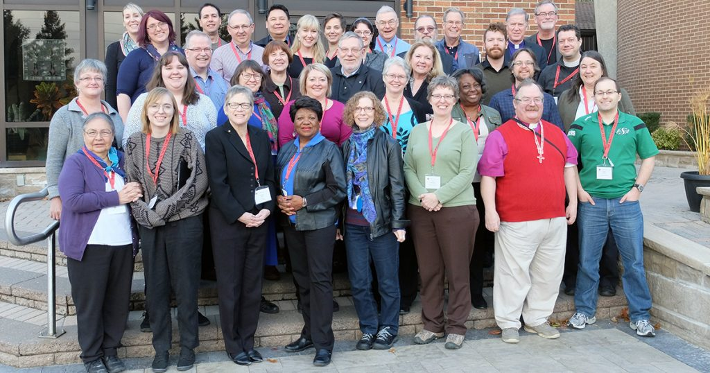 The Council of General Synod for the 2016-2019 triennium. Photo by Matt Gardner