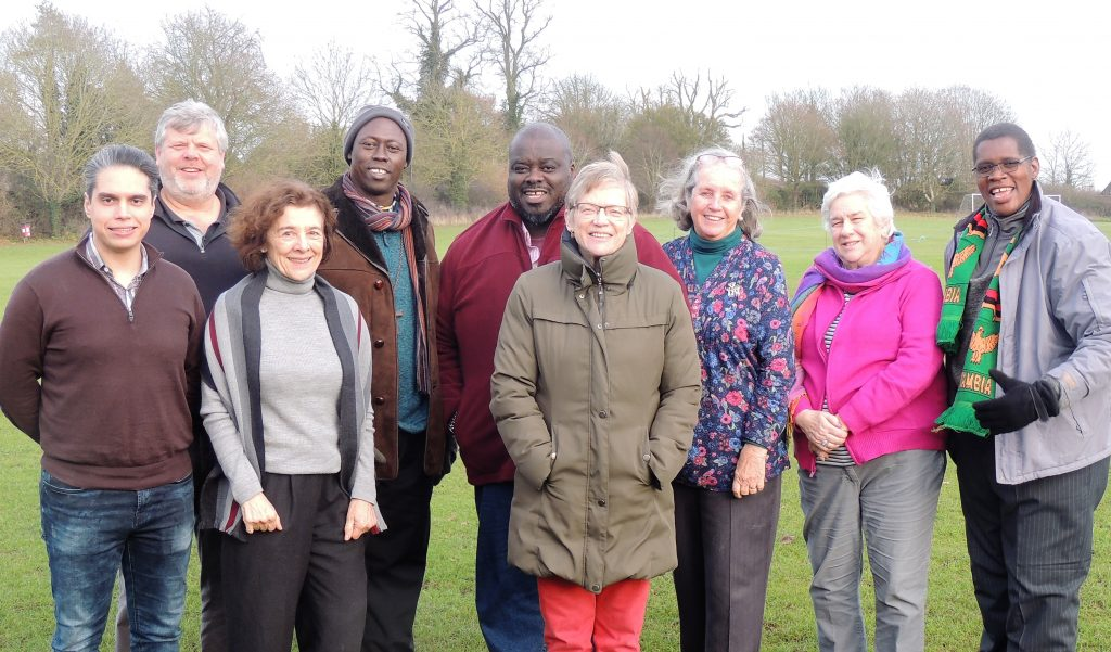 Members of the Anglican Peace and Justice Network (APJN) Steering Group, December 2019.