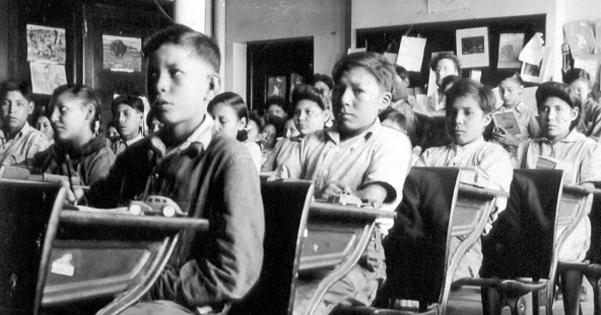 Old Sun Indian Residential School  (Gleichen, AB), P75-103 S7-184, 1945, General Synod Archives.