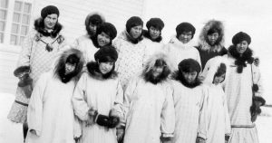 All Saints Indian Residential School (Aklavik, NWT), P75-103 S7-87,ca.1937.General Synod Archives.