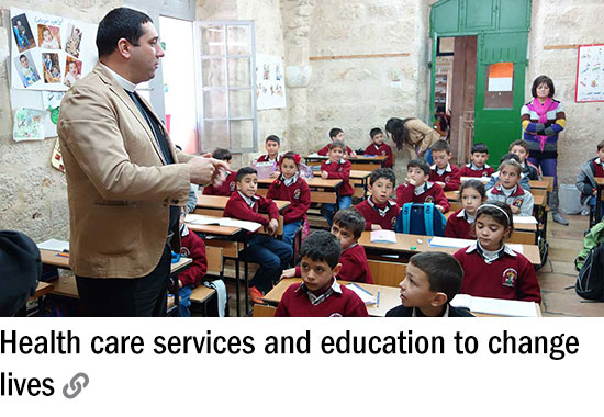 Health care services and education to change lives [CLICK TO VIEW]