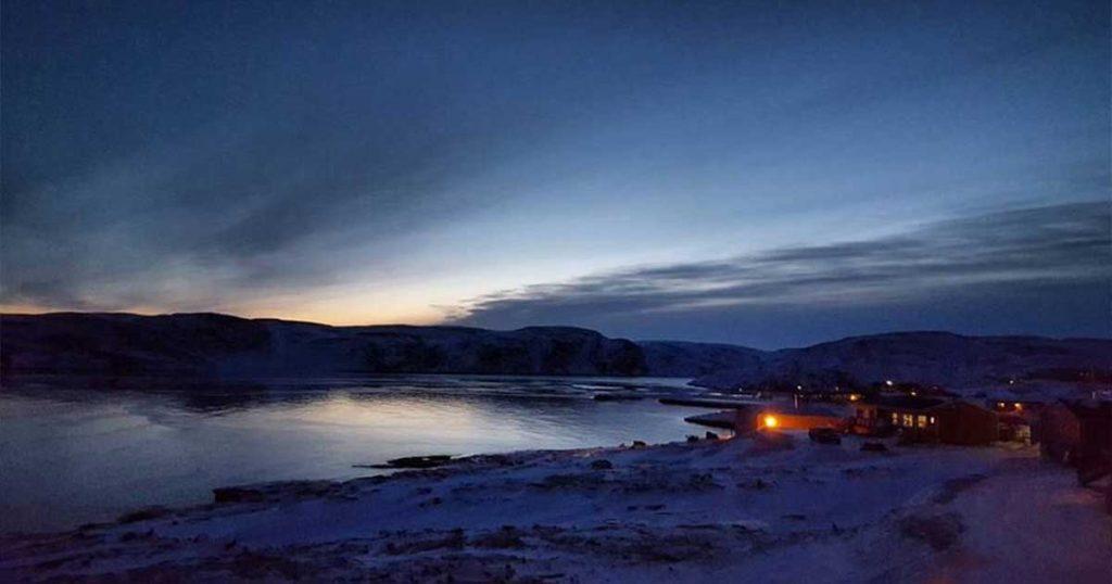 Sunrise in Ivujivik, Que.(Photo: General Synod)