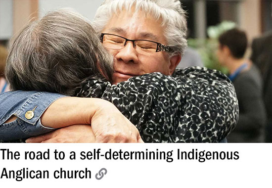 The road to a self-determining Indigenous Anglican church