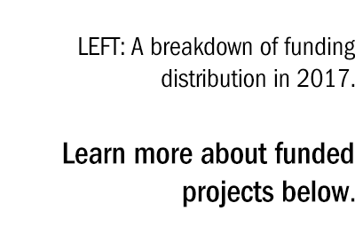 Learn more about funded projects below.