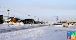 Arviat, in the Kivualliq region of Nunavut, is a community of approximately 2,600 people situated on the west shore of Hudson's Bay.