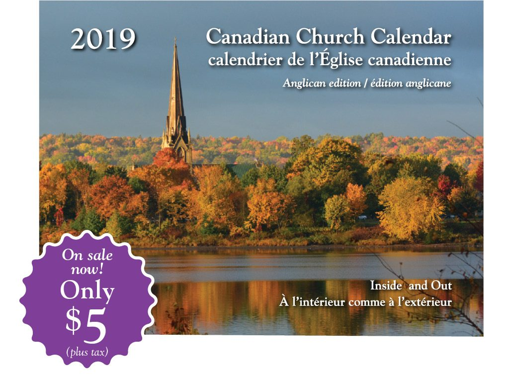 canadian church calendar 2019