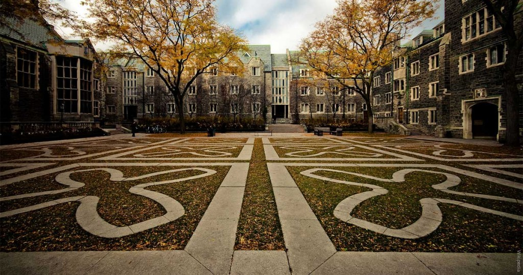 By Rémi Carreiro from Toronto, Canada (Trinity Quad) [CC BY-SA 2.0 (http://creativecommons.org/licenses/by-sa/2.0)], via Wikimedia Commons
