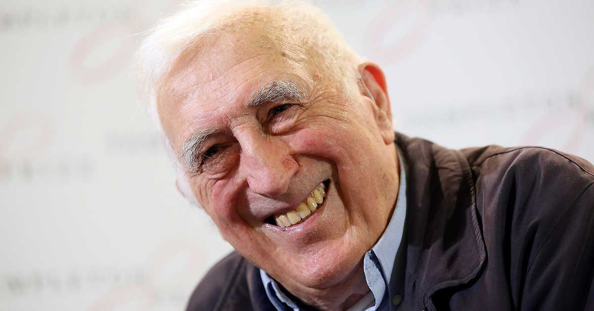 Jean Vanier. Photo courtesy Templeton Prize: Paul Hackett