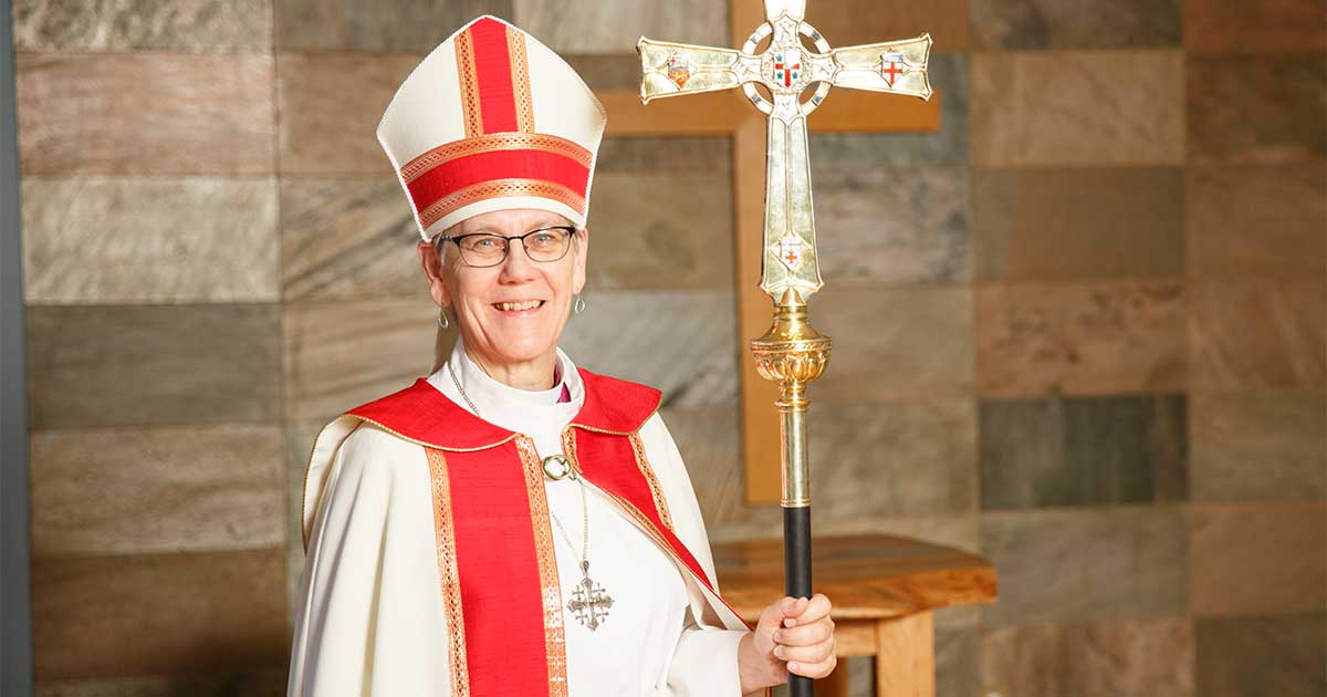 Photo of Archbishop Linda Nicholls