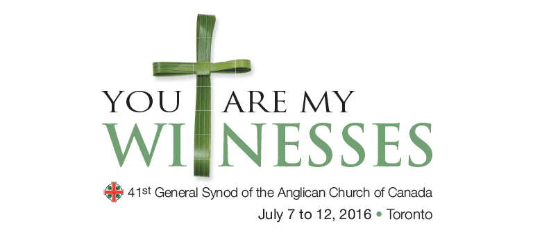 General Synod 2016 The Anglican Church Of Canada